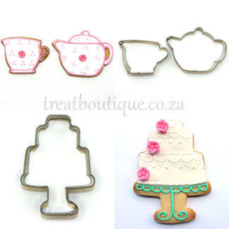 Tea and Treats Cookie Cutters