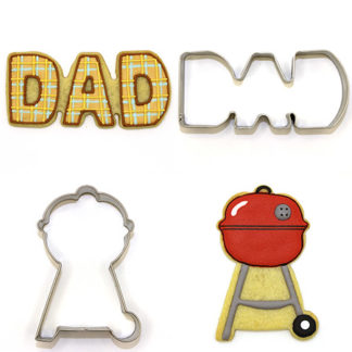 Dads & Dudes Cookie Cutters