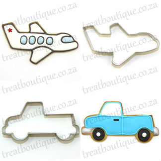 Travel And Transport Cookie Cutters