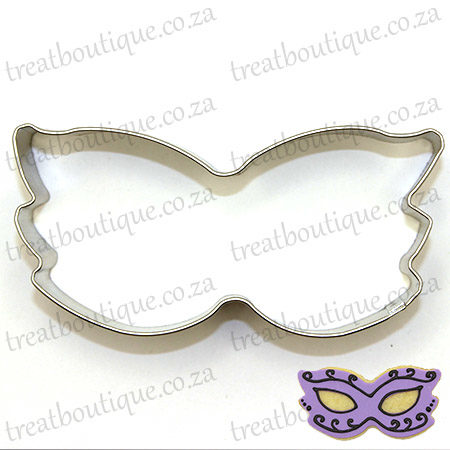Pics Photos - Masquerade Mask Cookie Cutter The Cookie Cutter Shop